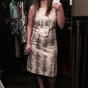 100% authentic Tory Burch dress.