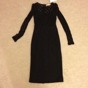 Dorothy Perkins black cocktail dress.