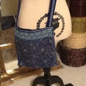 Handbags - Beaded Crossbody