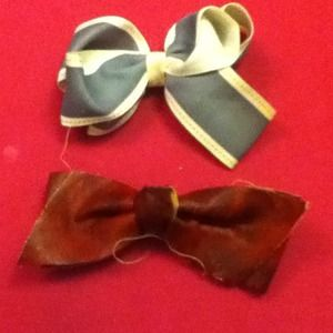 Bow hair clip bundle