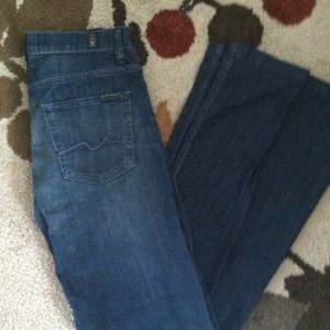 7 for all mankind jeans style: ginger. Size 27
