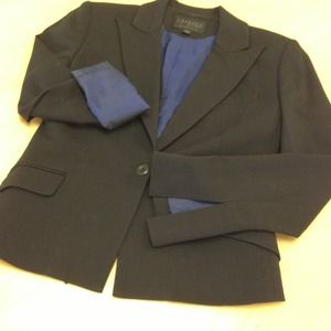 Express two-tone blazer
