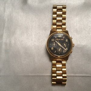 Michael Kors gold watch - like new!