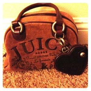 A juicy couture bowler bag