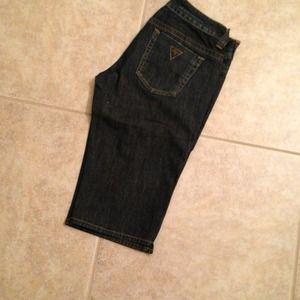 Guess Bermuda shorts. 29