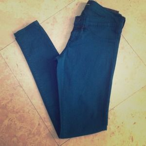 Emerald Flying Monkey skinny jeans