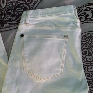 White Madewell Skinny Jeans