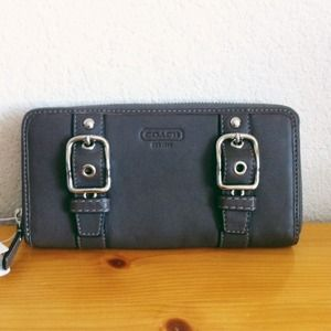Coach belt buckle wallet!
