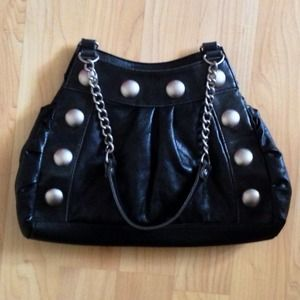 Handbags - Vintage Buttery Soft Giant Studded Leather Purse