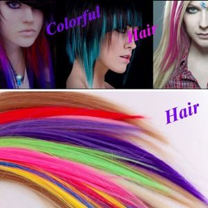 Accessories - Clip in color hair extension