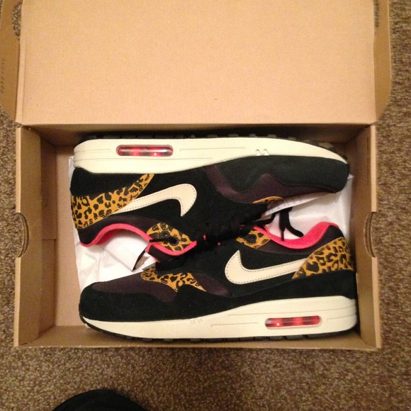 Nike Air max 1 wmns hyperstrike leopard pack ds NWT