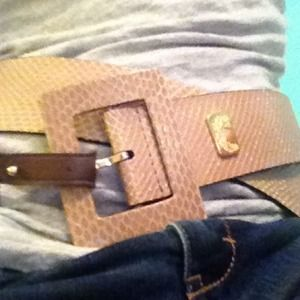 Accessories - Lizard Belt Medium NWT