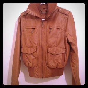 Jou Jou Jackets & Blazers - Camel Jacket - New without tags!!