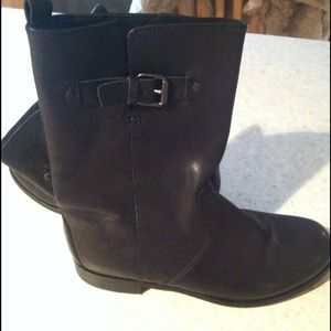 J. Crew Shoes - Jcrew Black leather Billy Boots.
