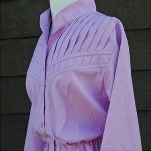 Vintage Lavender Secretary Dress