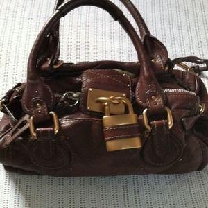 chloe bag padlocks