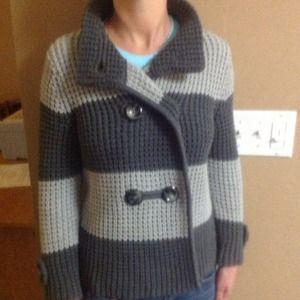 BUNDLED...Banana Republic Button Up Knit Sweater