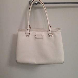 Kate Spade Elena Wellesley Bag in Porcelain