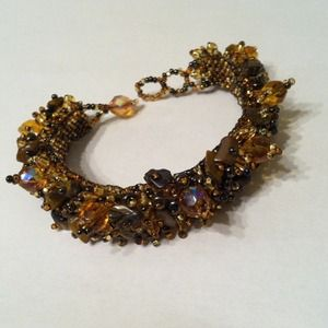 Jewelry - *FINAL* Beaded bracelet. Never worn