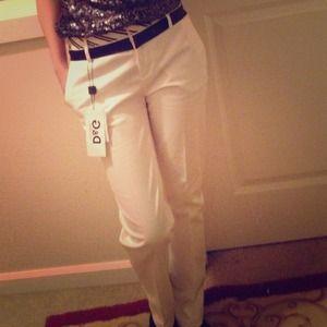 D&G white pant
