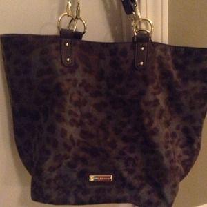 Steve Madden leopard handbag