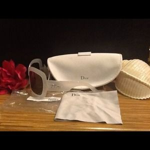 Authentic vintage Dior sunglasses.