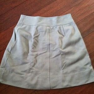 Banana Republic Skirts - Equestrian style skirt grey blue