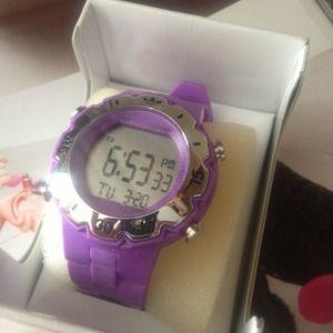 Brand new purple Adidas watch