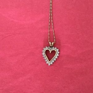 Jewelry - Diamond Heart Pendant..FINAL PRICE before meltdown