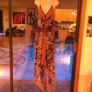 Nicole Miller silk dress