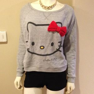 Sweaters - adorable hello kitty sweater top