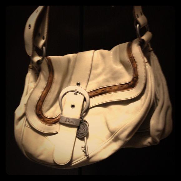 3410e740fba REDUCED!! Christian Dior gaucho double saddle bag