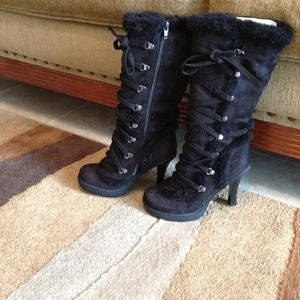 Anne Michelle Boots - Reserved Anne Michelle black boots