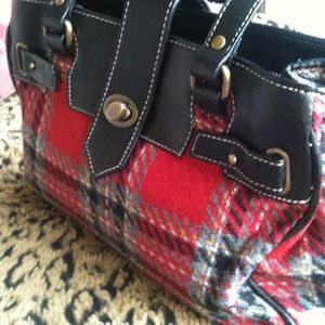 Indeed Handbags - Cute Plaid Purse❤