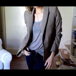 Taupe Wool Boy Blazer ⭐MINT Condition