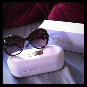 *HOLD for a friend* Gently used Chloe sunglasses