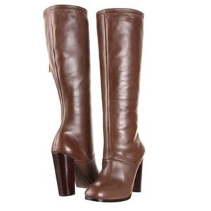 Elizabeth and James Boots - Elizabeth & James Creed Tall Boot in Taupe Leather