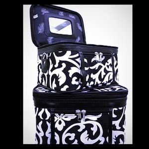 Accessories - Damask Print Cosmetic Bag Set (New)