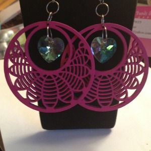 Super cute valentines day earrings