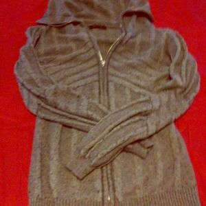Evolution by Cyrus Jackets & Blazers - Evolution by Cyrus grey zippered jacket