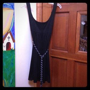 Dresses & Skirts - Black Empire Waist Dress