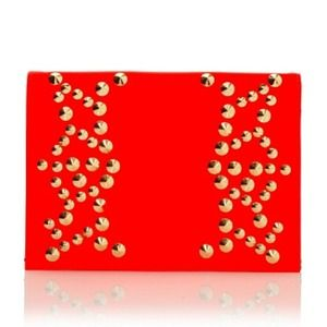 Be & D Clutches & Wallets - Last day! Be & D Nells Studded Envelope Clutch