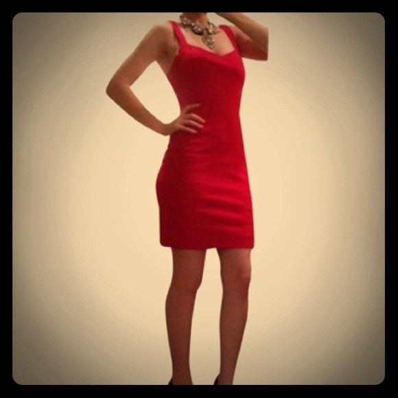 Red dress express fall