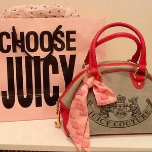 Juicy Couture Bowler Purse