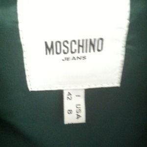 Moschino Jeans Jackets & Coats - REDUCED!!! Moschino Jeans Jacket!