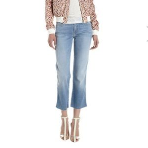 "Mother ""The Rascal Fray"" Cropped Jeans"