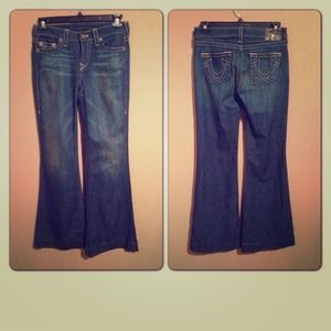 True Religion Denim - True Religion Wide leg Jeans