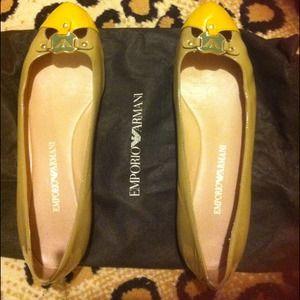 Emporio Armani flat shoes