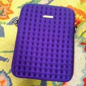 Rebecca Minkoff Purple Padded IPad Case!