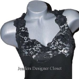  Dolce & Gabbana lace top 44/8 black
